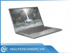 Laptop MSI Prestige 15 A11SCX 209VN (i7-1185G7/16GB-RAM/512GB-SSD/GTX-1650/15.6-FHD/Win10/Xám)