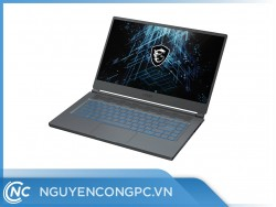 Laptop MSI Stealth 15M A11SDK 061VN (i7-1185G7/RAM-16GB/SSD-512GB/GTX1660Ti-6GB/15.6-FHD/Win10/Gray)