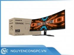 Màn Hình Cong Gigabyte G34WQC Gaming (34inch/1500R/WQHD/VA/144Hz/1ms/HDR)