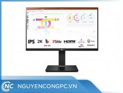 Màn Hình LG 24QP750-B (23.8inch/2K/IPS/75Hz/FreeSync/HDR10/sRGB-99%/USB-C)