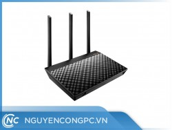 ASUS RT-AC66U B1 (Chuẩn AC1750 AiMesh | 2 băng tần | Broadcom | AiProtection | USB 3.0)