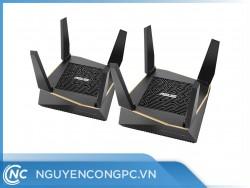 ASUS RT-AX92U 2 Pack (AiMesh Router) Wifi AX6100 2 băng tần, Wifi 6 (802.11ax), AiMesh 360 WIFI Mesh, AiProtection, USB 3.1
