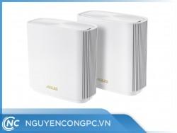 Router ASUS ZenWiFi AX (XT8) (WiFi 6 BĂNG TẦN KÉP MESH WI-FI MU-MIMO TRẮNG)
