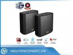 Router ASUS ZenWiFi AX (XT8) (WiFi 6 BĂNG TẦN KÉP MESH WI-FI MU-MIMO ĐEN)