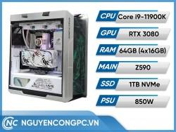 Bộ PC GUNDAM Intel Core i9-11900K | RTX 3080