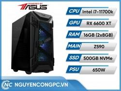 Bộ PC PBA Intel Core i7-11700k | RX 6600 XT
