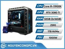 Bộ Máy Tính Intel Core i9-11900K | RTX 3080 Ti