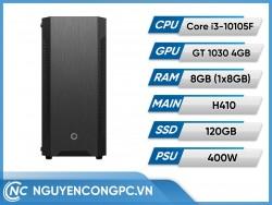 Bộ Máy Tính Intel Core i3-10105F | RAM 8GB | GTX 1030 4GB