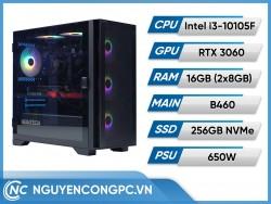PC GAMING Intel Core i3-10105F | RAM 16GB | RTX 3060
