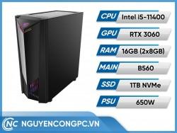 Bộ máy tính Intel Core i5-11400 | RTX 3060