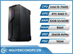 Bộ PC Intel Core i5-11400 | RTX 3060 Ti