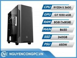 Bộ Máy Tính AMD RYZEN 5 3600 | RAM 8GB | GTX 1030 4GB