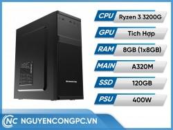 Bộ Máy Tính Ryzen 3 3200G | RAM 8GB