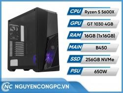 Bộ Máy Tính Ryzen 5 5600X | RAM 16GB | GTX 1030 4GB