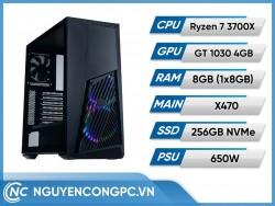 Bộ Máy Tính AMD Ryzen 7 3700X | RAM 8GB | GTX 1030 4GB