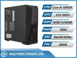 Bộ Máy Tính Core i9 10900F | RAM 16GB | GTX 1050 Ti