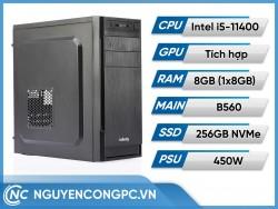 Bộ Máy Tính Intel Core i5-11400 | RAM 8GB