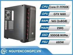 Bộ Máy Tính Intel Core i7-11700K | GTX 1650 | RAM 16GB