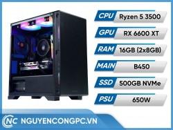 Bộ PC AMD Ryzen 5 3500 | RX 6600 XT