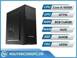 Bộ PC Intel Core i3-10100F | GT710