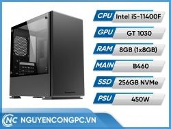 Bộ PC Intel Core i5-11400F | VGA GT-1030 4GB