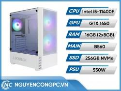 Bộ PC Intel Core i5-11400F | VGA GTX-1650