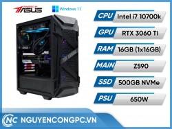 Bộ PC Intel Core i7-10700k | RTX 3060 Ti