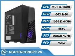 Bộ Máy Tính Intel Core i7-11700 | GTX 1650 | RAM 16GB