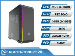 Bộ PC Intel Core i7-11700 | RTX 2060 | RAM 16GB
