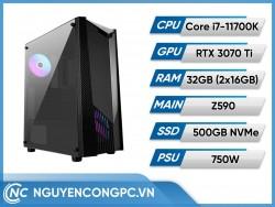 Bộ PC Intel Core i7-11700K | RTX 3070 Ti