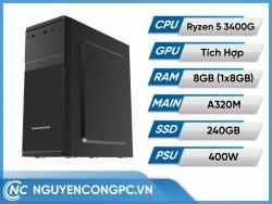 Bộ PC Ryzen 5 3400G | RAM 8GB