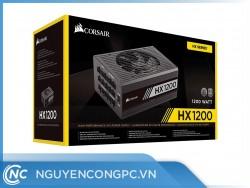 Nguồn Máy Tính Corsair HX1200 (1200W   80 Plus Platinum   Fully Modular)
