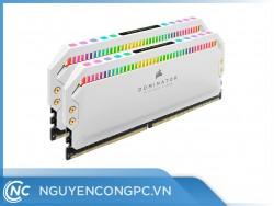 RAM Corsair Dominator Platinum White RGB 16GB (2x8G) DDR4 3200MHz