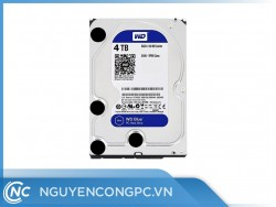 Ổ Cứng HDD Western Caviar Blue 4TB (3.5inch/5400RPM/SATA3/64MB Cache)