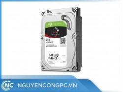Ổ Cứng HDD Seagate Ironwolf 2TB NAS (3.5inch/5900RPM/SATA3/64MB Cache)