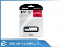 Ổ Cứng SSD Kingston NV1 2TB PCIe NVMe M.2 2280