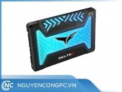 "SSD TEAMGROUP T-Force Delta S RGB 250GB Black 5V Sata III 2.5"""