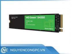 Ổ Cứng SSD WD Green SN350 240GB (M.2 2280 | PCIe NVMe Gen3x4 | 2,400/900 MB/s | WDS240G2G0C)