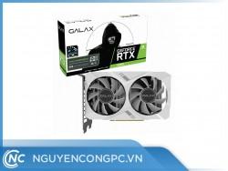 Card Màn Hình GALAX RTX 2060 White ELITE (1-Click OC)