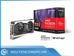 Card Màn Hình Sapphire AMD Radeon RX 6600 XT NITRO+