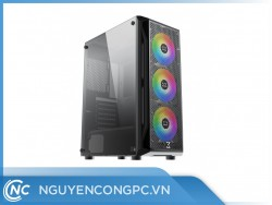 Vỏ Case XIGMATEK GAMING X 3FX (ATX/3 Fan ARGB/EN46188)