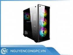Vỏ Case XIGMATEK VENOM X (3 Fan LED)
