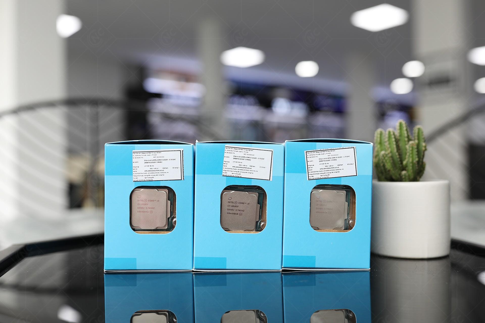 Intel Core i3-10105F Box